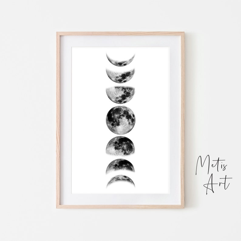 graphic regarding Phases of the Moon Printable referred to as Stages of the Moon Printable, Moon Levels Printable, Moon Levels Print, Moon Poster, Moon Levels Wall Artwork, Electronic Obtain, Lunar Stages