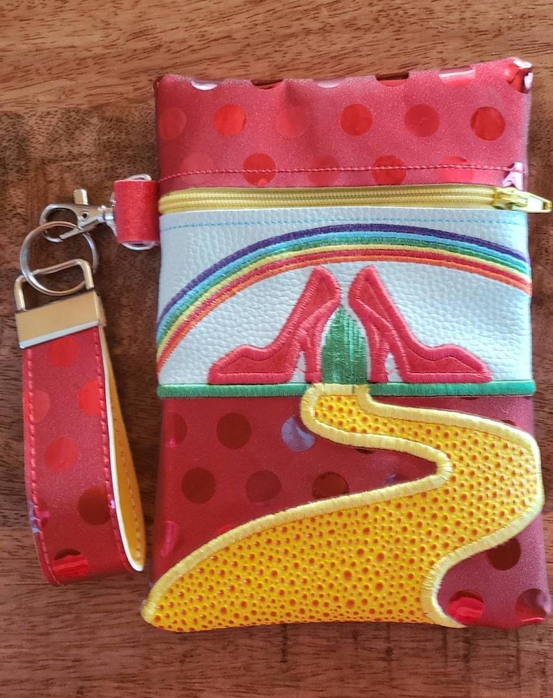 Pebbles and BamBam Zipper Bag and Key Fob*Makeup Bag*Zipper Pouch*Wristlet