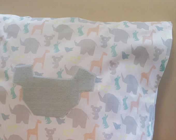 Kinderkissenbezug KOALA ORIGAMI