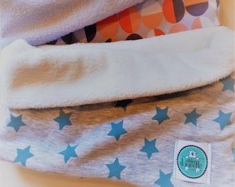 Loop-Schal GREEN STARS