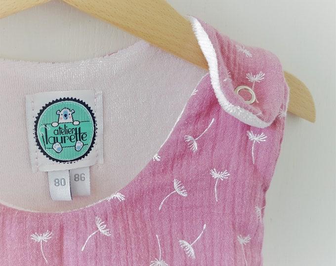 Babyschlafsack PINK DANDELION