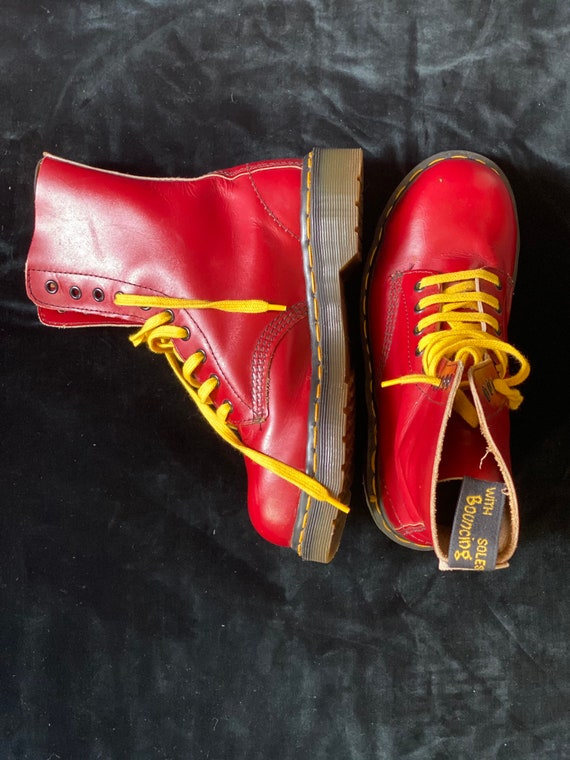 Doc Martens vintage 90s Unisexe Made in England in