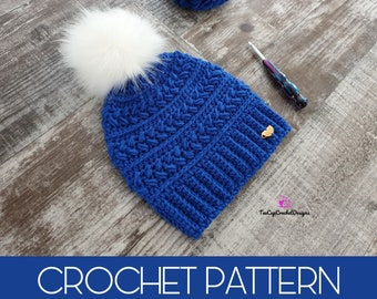 0a18c0657d4 Perfectly Chic Beanie Crochet Pattern
