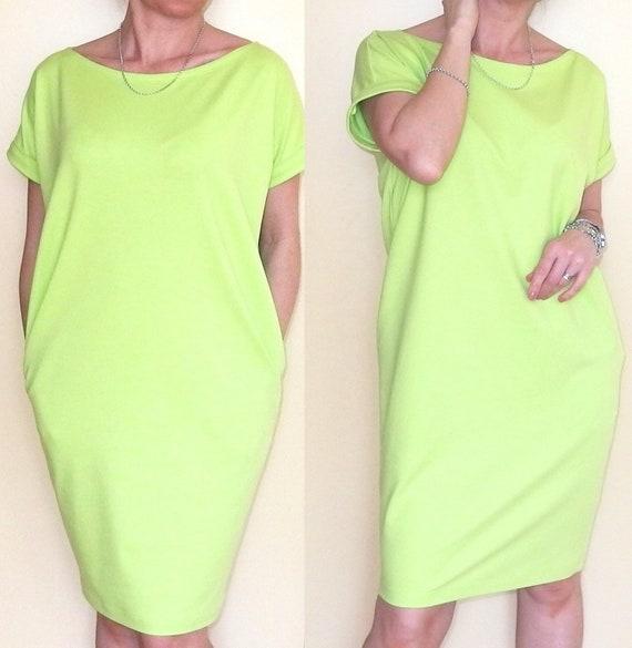 Aprilia Long Lace Dress Tube Loose Trapezoidal Size 36 52 S 6xl Emprofil