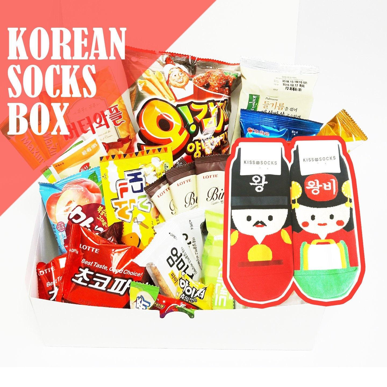 Chaussettes coréens set  1   coréen chaussettes Coréens roi et la reine,  souvenirs traditionnels c835bdc3471