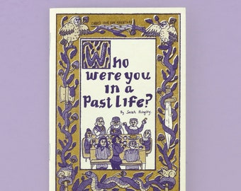 Who Were You In A Past Life Choose Your Own Adventure Risograph Zine A6
