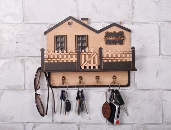 Key Hanger Home Wedding Gift Key Holder Personalized Gift Wall Key Rack Housewarming Gift Wall Key Holder Key Holders