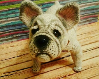 Französische Bulldogge Stricken Etsy