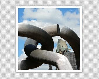 """Berlin """"Sculpture, Memorial Church"""