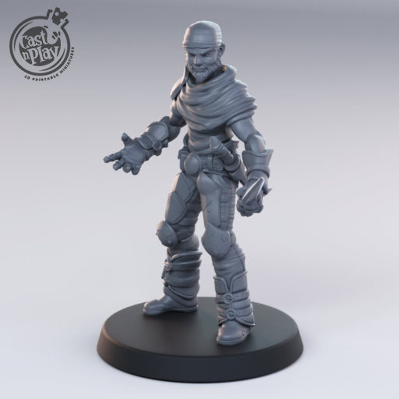Melee DnD Tabletop Gaming Miniature Painting Dungeons and Dragons Bandits