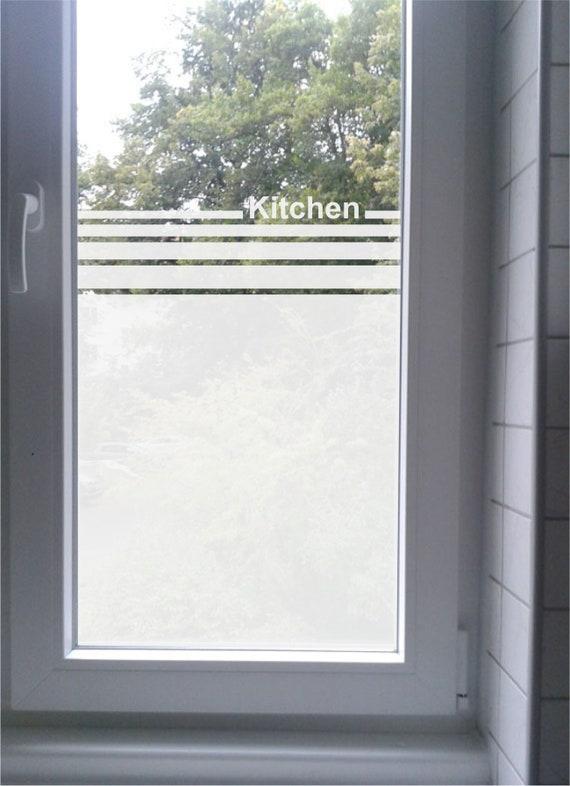 Glas Fenster Sichtschutz Kitchen Kuche Etsy