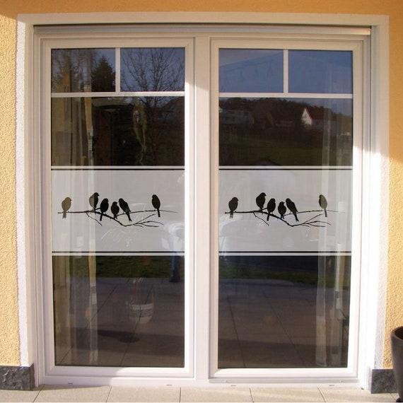 Fenster Sichtschutzfolie Glasfolie Ornament Glasdekoration Milchglasfolie