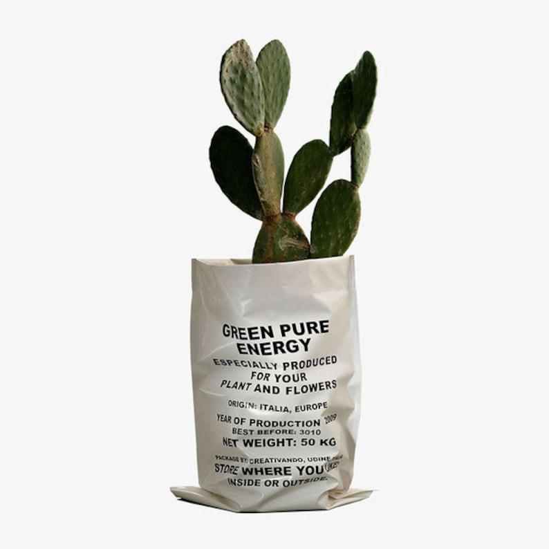 Flower bag pot Green Pure Energy image 0