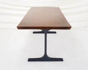 "Wineglass Table Legs (28.5""H)   Handmade Metal Legs (set of 2 pcs)   Desk Legs, Dining Table Legs, Furniture Legs   FLOWYLINE DESIGN"
