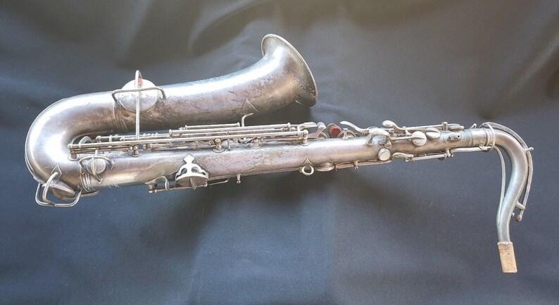 C G Conn Antique Saxophone Patd  Dec  8, 1914 1119954 C 94889 L Ships Free