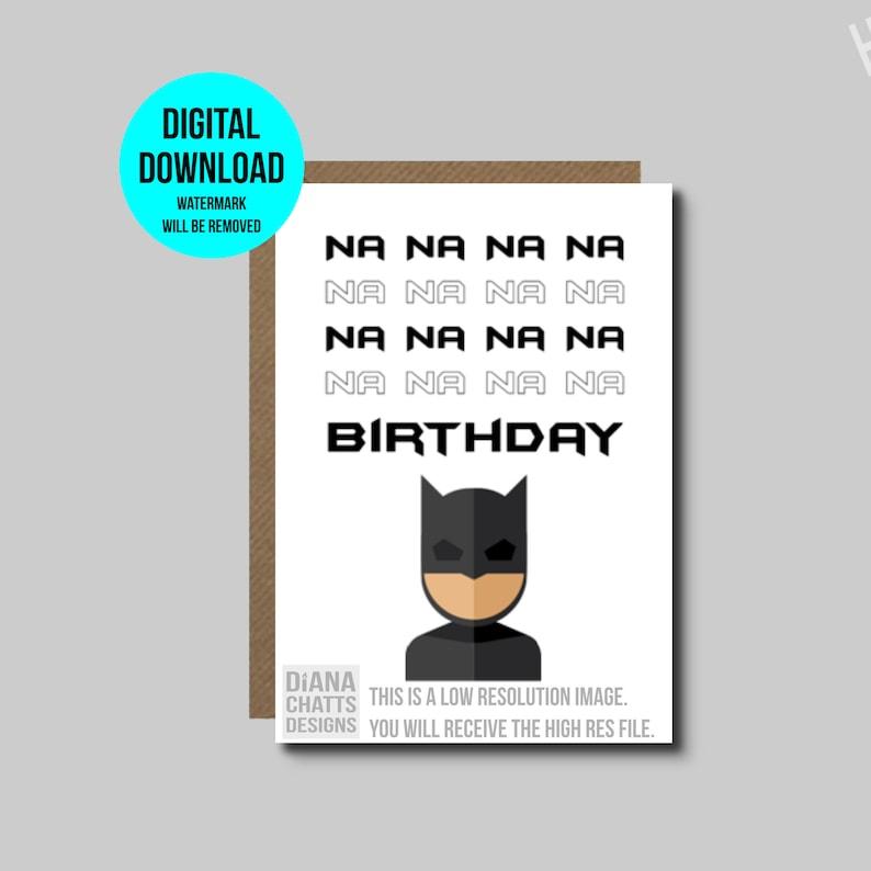 image relating to Batman Printable Birthday Card named Printable Batman Birthday Card