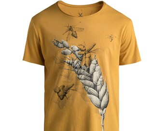 Tarwe by Redmer Hoekstra Mens T-Shirt Made By Famous Graphic Designers