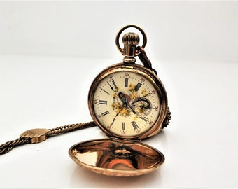 USA Waltham 1900s Pocket Watch - Personalized Pocket Watch - Mechanical Pocket Watch - Steampunk Pocket Watch - Gift - Present - Steampunk