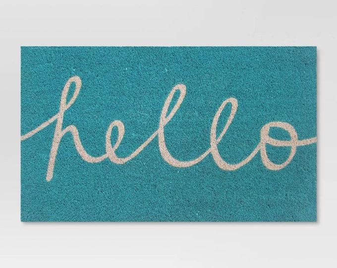 """18""""X30"""" Quote Doormat - Doormat - Funny Welcome Mat - Housewarming Gift - Wedding Gift - Newlywed Gift - Funny Doormat - Coir Doormat"""