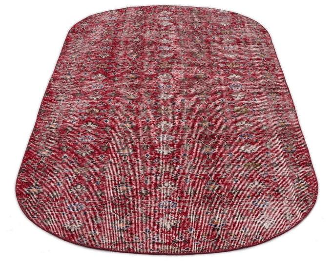 Vintage Turkish Rug 7.10X3.10 Ft, Area Rug, Kilim Rug, Rugs, Boho Decor, Moroccan Rug,Housewarming Gift, Turkish Rug, Persian Rug,Oushak Rug