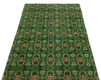 Vintage  3'2'' X 6'6'' Ft Vintage Kilim Rug - Turkish Area Rug - Bohemian Rug - Wool Carpet Rug - Hand Knotted Rug - Accent Rug - Hall Rug