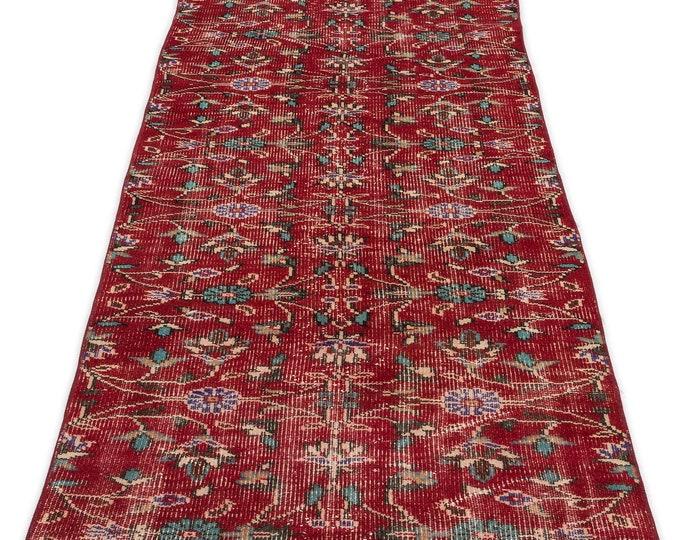 Vintage Runner Rug 2.11X8.0 Ft, Area Rug, Kilim Rug, Rugs, Boho Decor, Moroccan Rug, Vintage Rug, Turkish Rug, Persian Rug, Oushak Rug