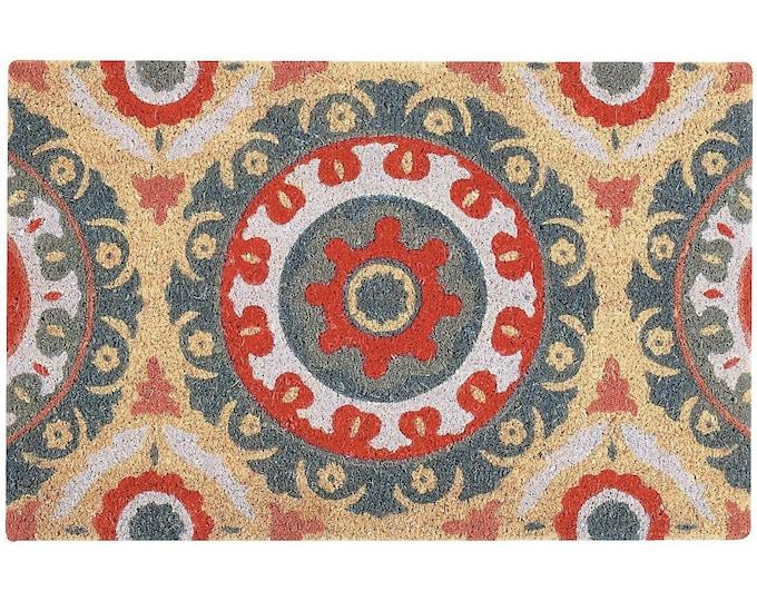 """18""""X30"""" Abstract Doormat  - Doormat - Funny Welcome Mat - Housewarming Gift - Wedding Gift - Newlywed Gift - Funny Doormat - Coir Doormat"""
