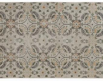 Vintage  3'3'' X 6'3'' Ft Vintage Kilim Rug - Turkish Area Rug - Bohemian Rug - Wool Carpet Rug - Hand Knotted Rug - Accent Rug - Hall Rug