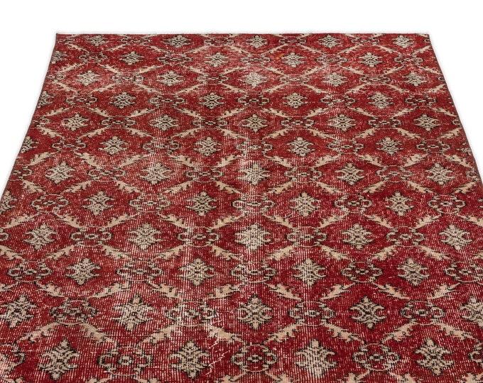 Vintage Runner Rug 3.10X6.8 Ft, Area Rug, Kilim Rug, Rugs, Boho Decor, Moroccan Rug, Vintage Rug, Turkish Rug, Persian Rug, Oushak Rug