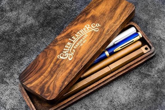 GL Handmade Wooden Pen Case