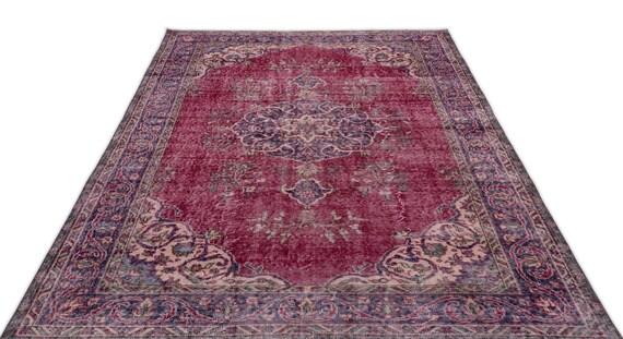 Natural 5'10'' X 8'10'' Ft Vintage Kilim Rug, turkish area rug, home decor rug, aztec rug, pale color rug, nomadic rug, hall rug,