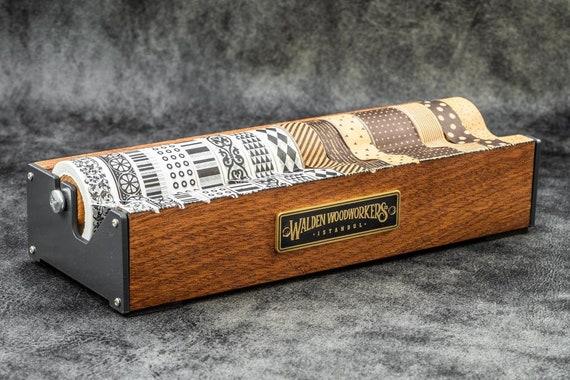 GL Wooden Multi Washi Tape Dispenser - Mahogany