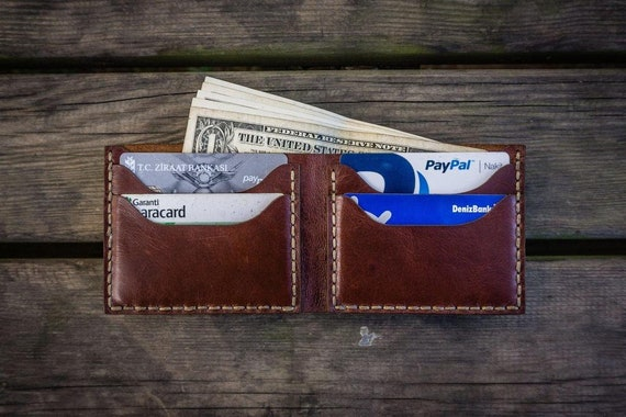 GL No.48 Personalized Handmade Leather Wallet