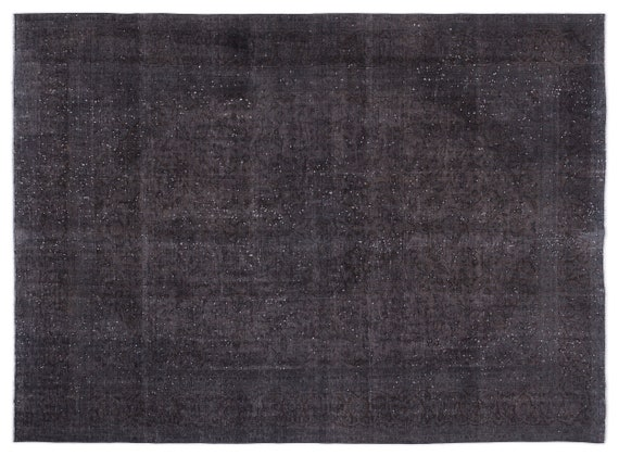 Persian  Kilim Rug Gray Oversized 9'7'' X 12'10'' Ft   kilim rug, moroccan rug, beni ourain, rag rug, tapis kilim, vintage