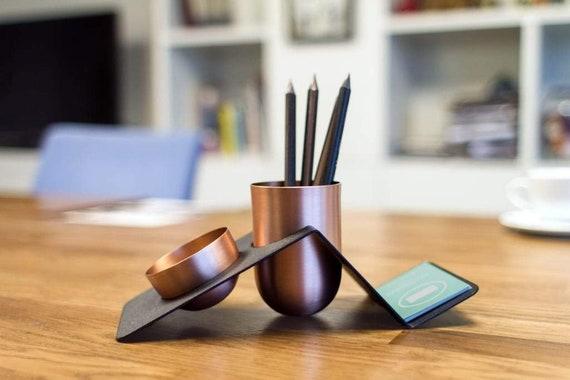GL Blank Copper Desk Tidy