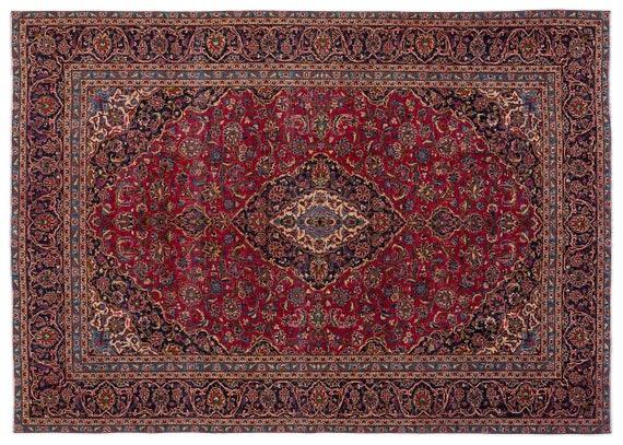 Naturel  9'1'' X 12'10'' Ft Persian Handwoven Kilim Rug