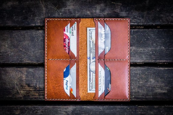 GL No.49 Brown Personalized Handmade Unisex Long Wallet