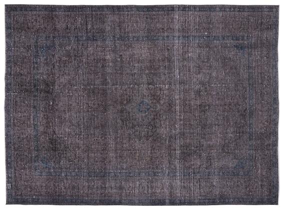 Persian  Kilim Rug Gray Oversized 9'8'' X 13'1'' Ft   kilim rug, moroccan rug, beni ourain, rag rug, tapis kilim, vintage