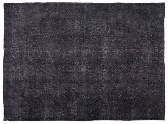 Persian  Kilim Rug Gray Oversized 9'7'' X 12'11'' Ft   kilim rug, moroccan rug, beni ourain, rag rug, tapis kilim, vintage