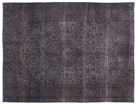 Persian  Kilim Rug Gray Oversized 9'10'' X 12'12'' Ft   kilim rug, moroccan rug, beni ourain, rag rug, tapis kilim, vintage
