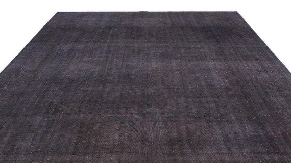 Gray  9'7'' X 12'10'' Ft Persian Kilim Rug , turkish rug, area rug, moroccan rug, boucherouite rug, persian rug, berber rug, wool rug