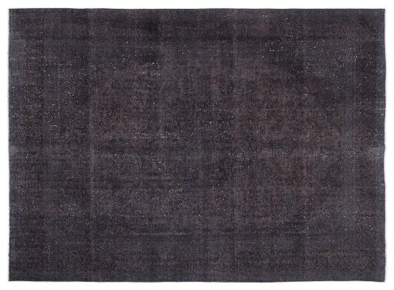 Gray  9'7'' X 12'10'' Ft Persian Handwoven Kilim Rug