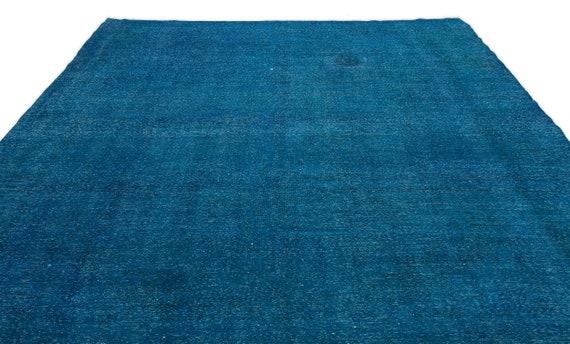 Turquoise  9'7'' X 13'11'' Ft Persian Kilim Rug