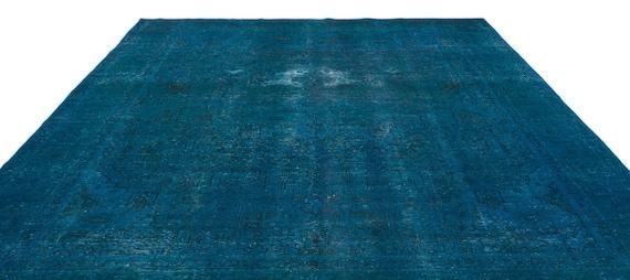 Turquoise  9'5'' X 12'12'' Ft Persian Kilim Rug