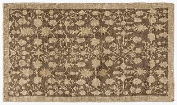 Heritage  Kilim Rug Beige Small Size 4'3'' X 7'3'' Ft   kilim rug, moroccan rug, beni ourain, rag rug, tapis kilim, vintage