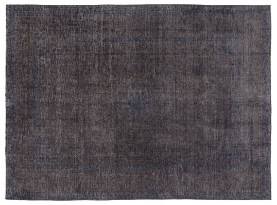 Persian  Kilim Rug Gray Oversized 9'6'' X 12'10'' Ft   kilim rug, moroccan rug, beni ourain, rag rug, tapis kilim, vintage