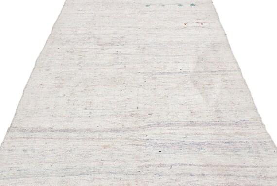 Chaput 4'12'' X 9'8'' Ft Kilim Rug , turkish rug, area rug, moroccan rug, boucherouite rug, persian rug, berber rug, wool rug