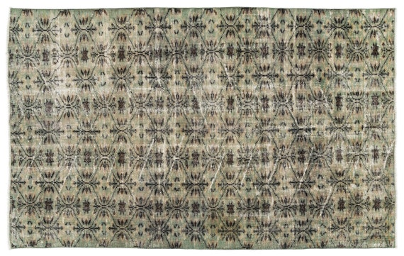 Natural 4'11'' X 8'0'' Ft Vintage Kilim Rug, Turkish Rug, Area Rug, Moroccan Rug, Boucherouite Rug, Persian Rug, Berber Rug, Wool Rug, Boho