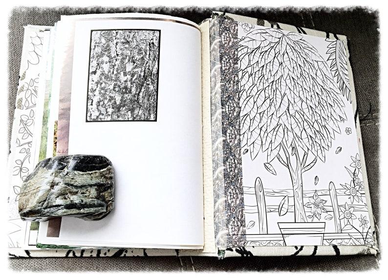 Tree Themed Junk Journal