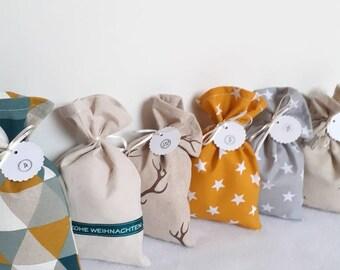 Advent Calendar Advent Bags